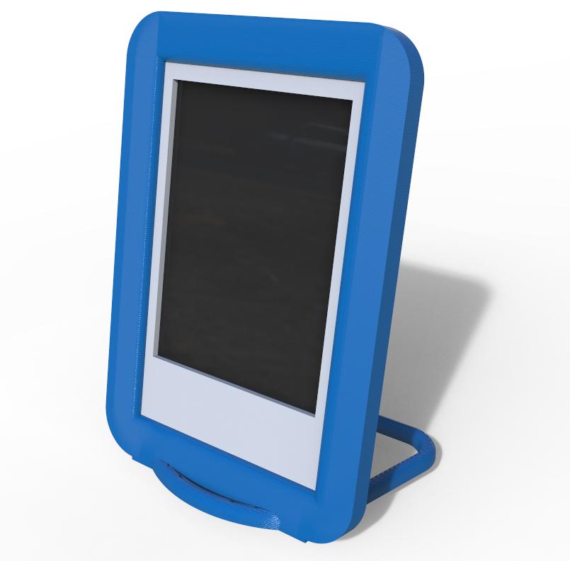 cadre2.PNG Télécharger fichier STL gratuit Cadre pour polaroïd Instax MINI • Objet pour impression 3D, zamo
