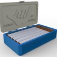 Free cigarette box STL file, zamo