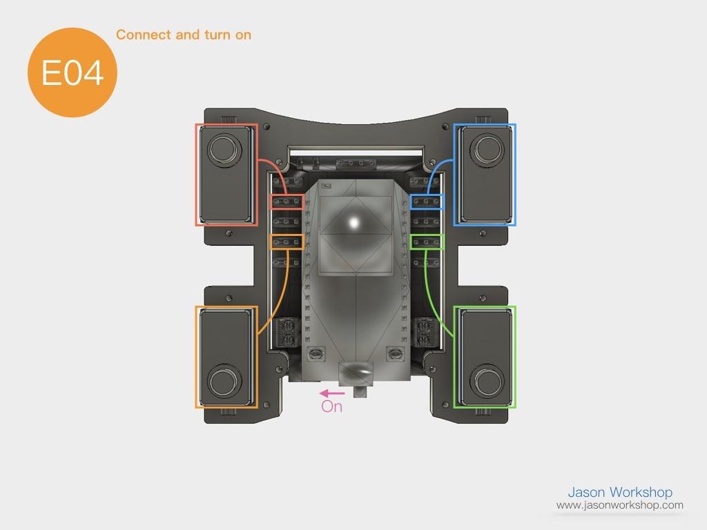 Q1mini_instructions.029.jpeg Download free STL file Q1 mini Quadruped Robot 2.0 (Designed by Jason Workshop) • 3D printing design, Jason8866