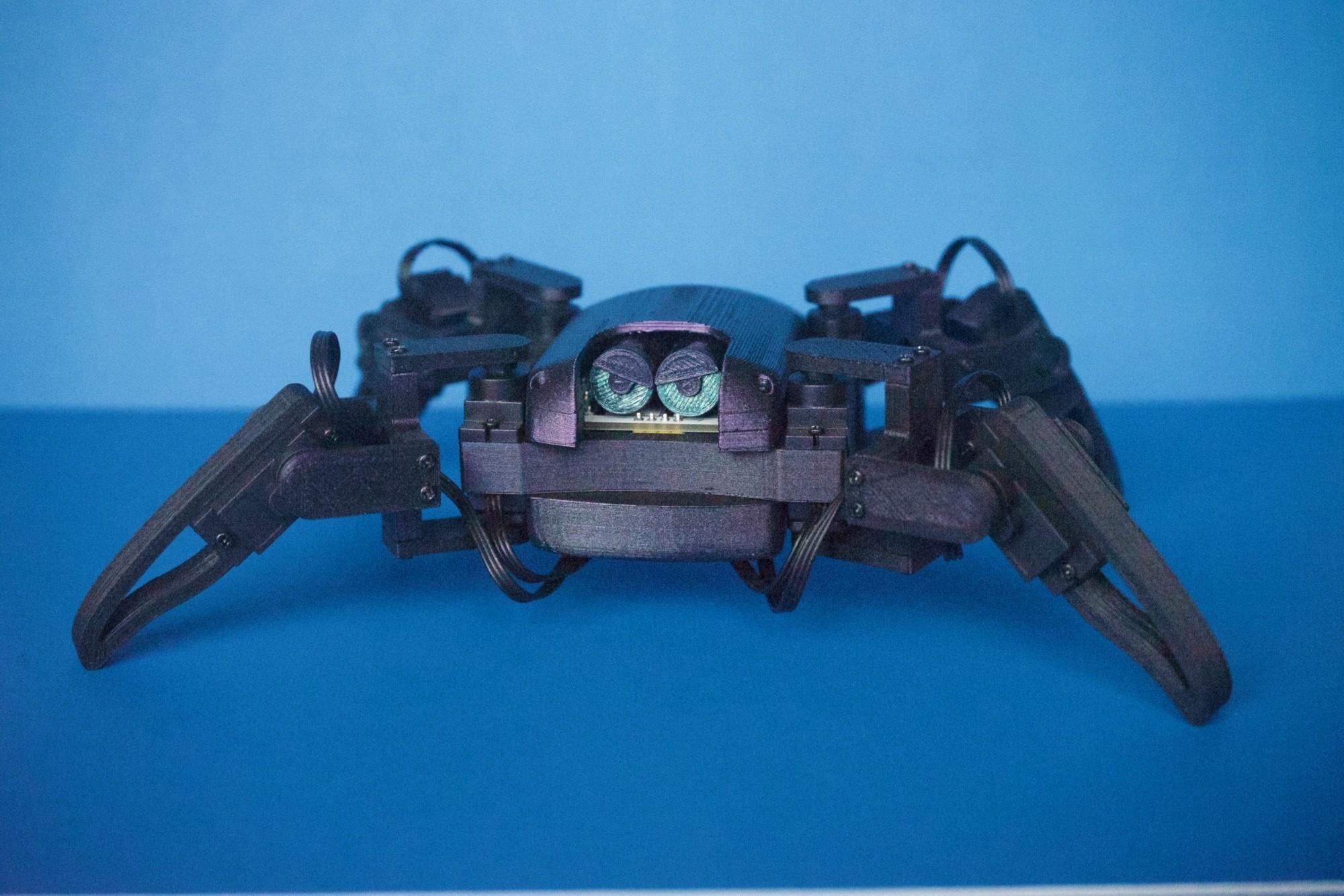 Q1mini001.jpg Download free STL file Q1 mini Quadruped Robot 2.0 (Designed by Jason Workshop) • 3D printing design, Jason8866