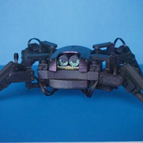 Free 3d printer designs Q1 mini Quadruped Robot 2.0 (Designed by Jason Workshop), Jason8866