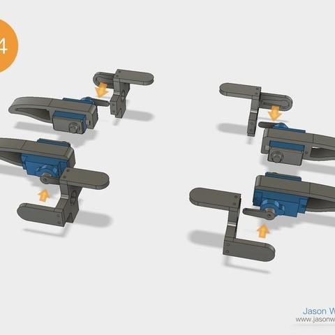 Q1mini_instructions.039.jpeg Download free STL file Q1 mini Quadruped Robot 2.0 (Designed by Jason Workshop) • 3D printing design, Jason8866