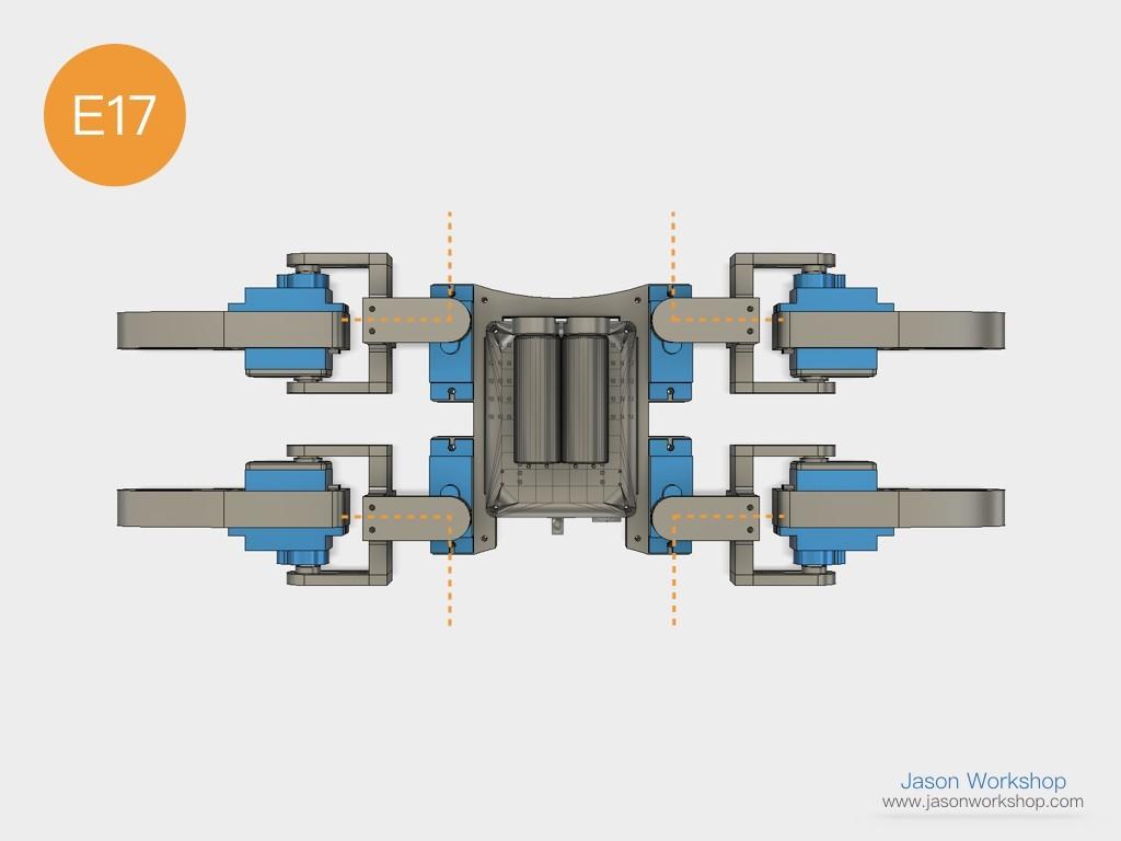 Q1mini_instructions.042.jpeg Download free STL file Q1 mini Quadruped Robot 2.0 (Designed by Jason Workshop) • 3D printing design, Jason8866