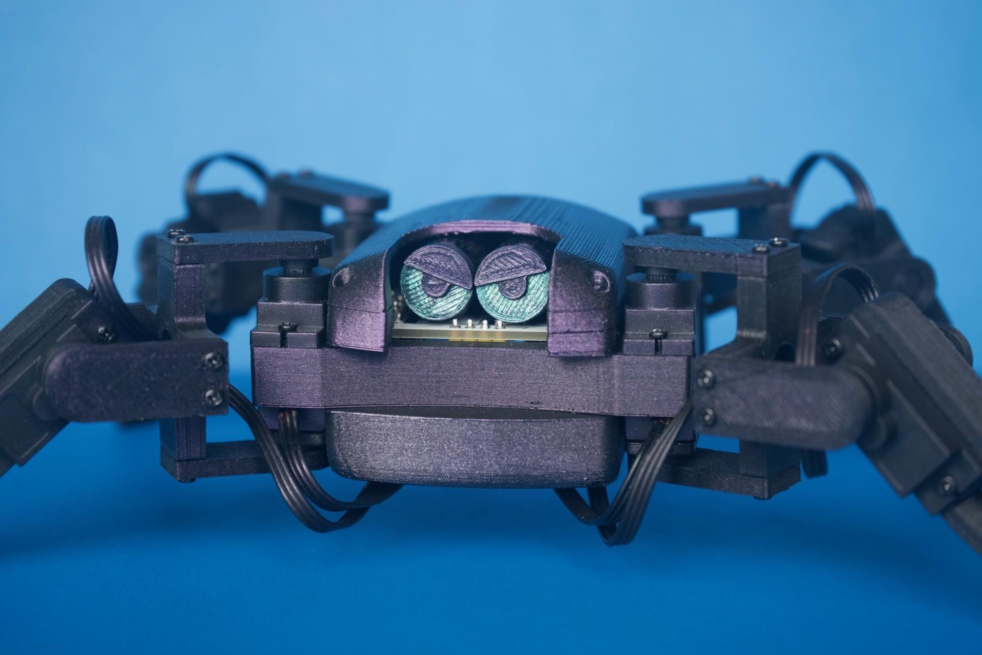 Q1mini002.jpg Download free STL file Q1 mini Quadruped Robot 2.0 (Designed by Jason Workshop) • 3D printing design, Jason8866
