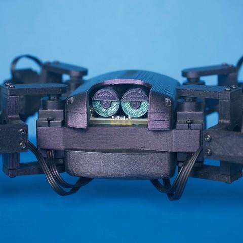Q1mini003.jpg Download free STL file Q1 mini Quadruped Robot 2.0 (Designed by Jason Workshop) • 3D printing design, Jason8866