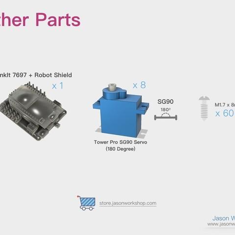Q1mini_instructions.006.jpeg Download free STL file Q1 mini Quadruped Robot 2.0 (Designed by Jason Workshop) • 3D printing design, Jason8866