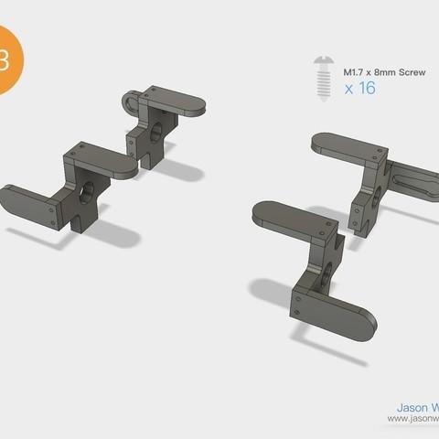 Q1mini_instructions.038.jpeg Download free STL file Q1 mini Quadruped Robot 2.0 (Designed by Jason Workshop) • 3D printing design, Jason8866
