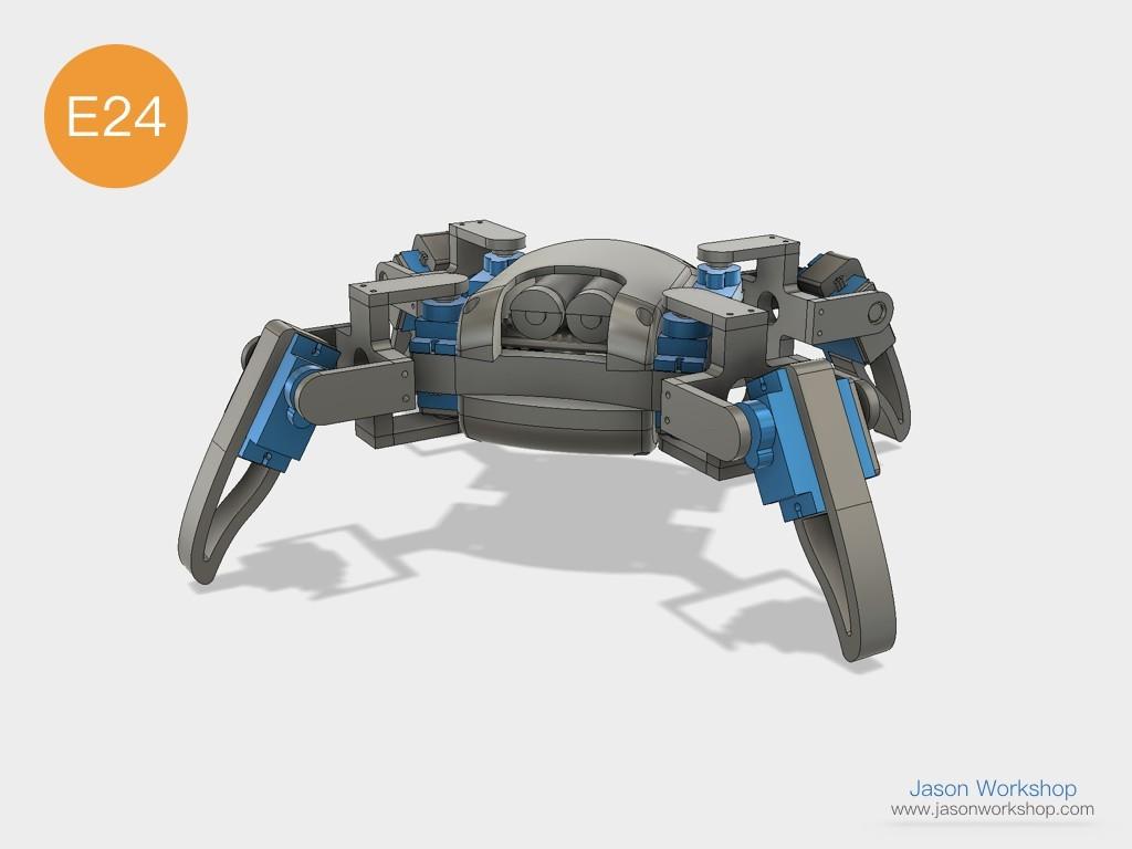 Q1mini_instructions.049.jpeg Download free STL file Q1 mini Quadruped Robot 2.0 (Designed by Jason Workshop) • 3D printing design, Jason8866