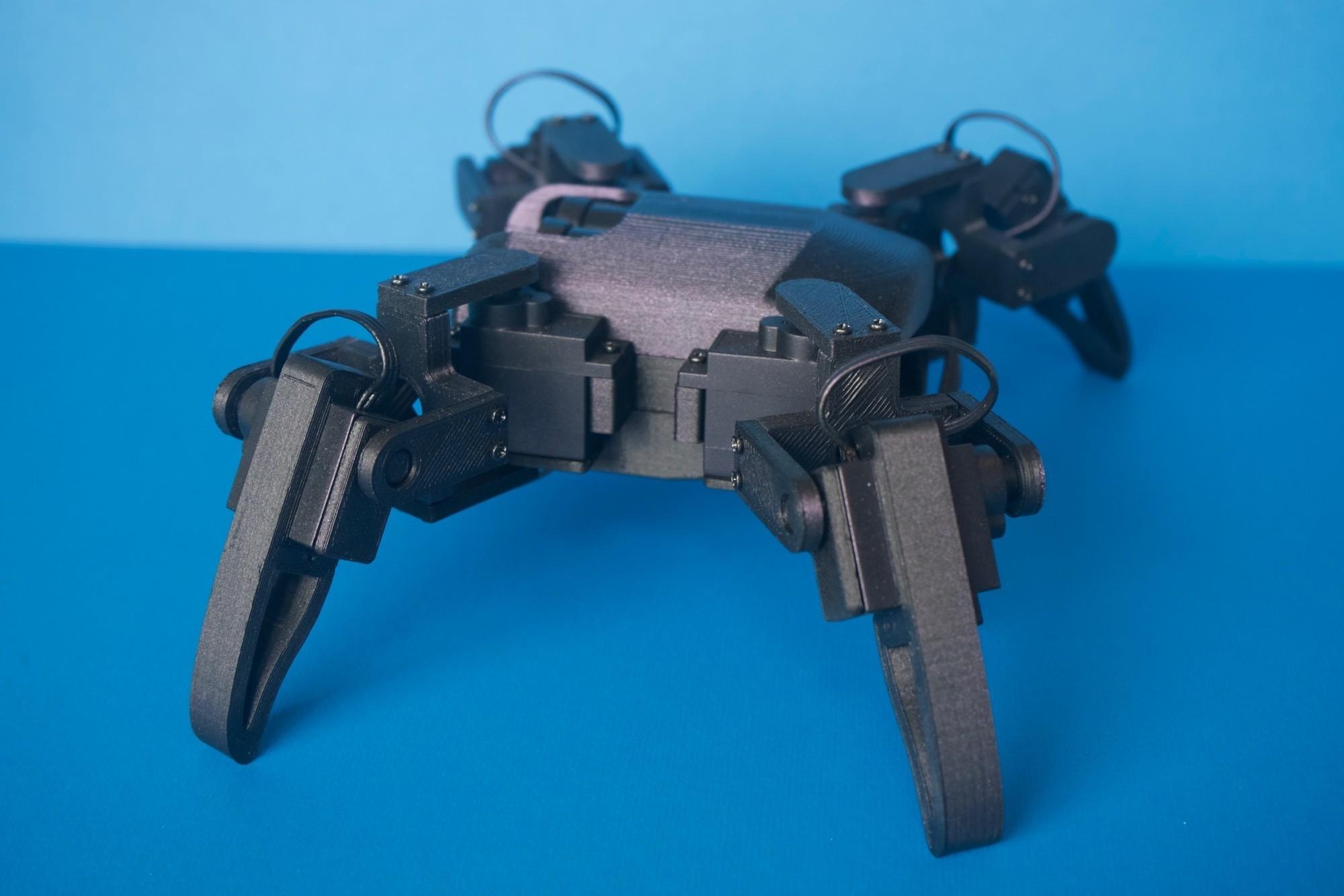 Q1mini007.jpg Download free STL file Q1 mini Quadruped Robot 2.0 (Designed by Jason Workshop) • 3D printing design, Jason8866
