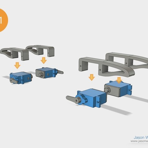 Q1mini_instructions.036.jpeg Download free STL file Q1 mini Quadruped Robot 2.0 (Designed by Jason Workshop) • 3D printing design, Jason8866