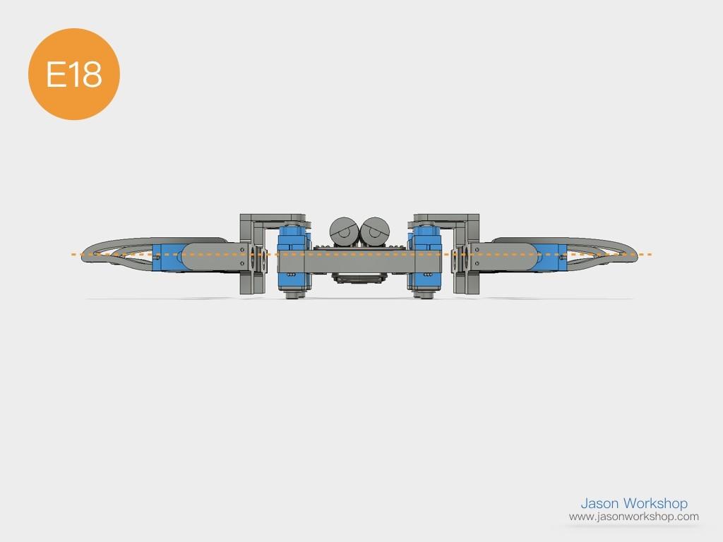 Q1mini_instructions.043.jpeg Download free STL file Q1 mini Quadruped Robot 2.0 (Designed by Jason Workshop) • 3D printing design, Jason8866