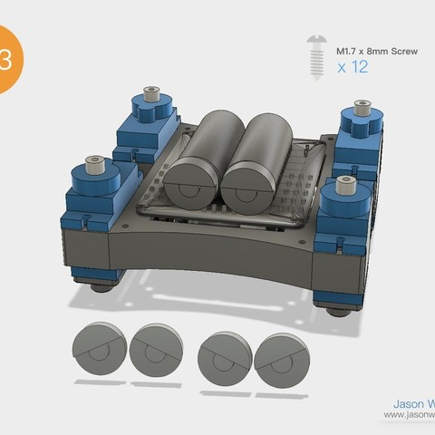 Q1mini_instructions.028.jpeg Download free STL file Q1 mini Quadruped Robot 2.0 (Designed by Jason Workshop) • 3D printing design, Jason8866
