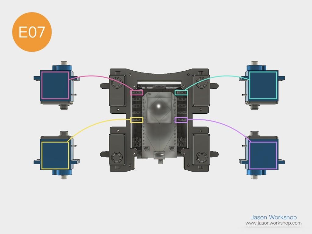 Q1mini_instructions.032.jpeg Download free STL file Q1 mini Quadruped Robot 2.0 (Designed by Jason Workshop) • 3D printing design, Jason8866