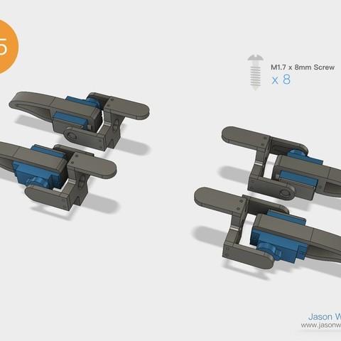 Q1mini_instructions.040.jpeg Download free STL file Q1 mini Quadruped Robot 2.0 (Designed by Jason Workshop) • 3D printing design, Jason8866