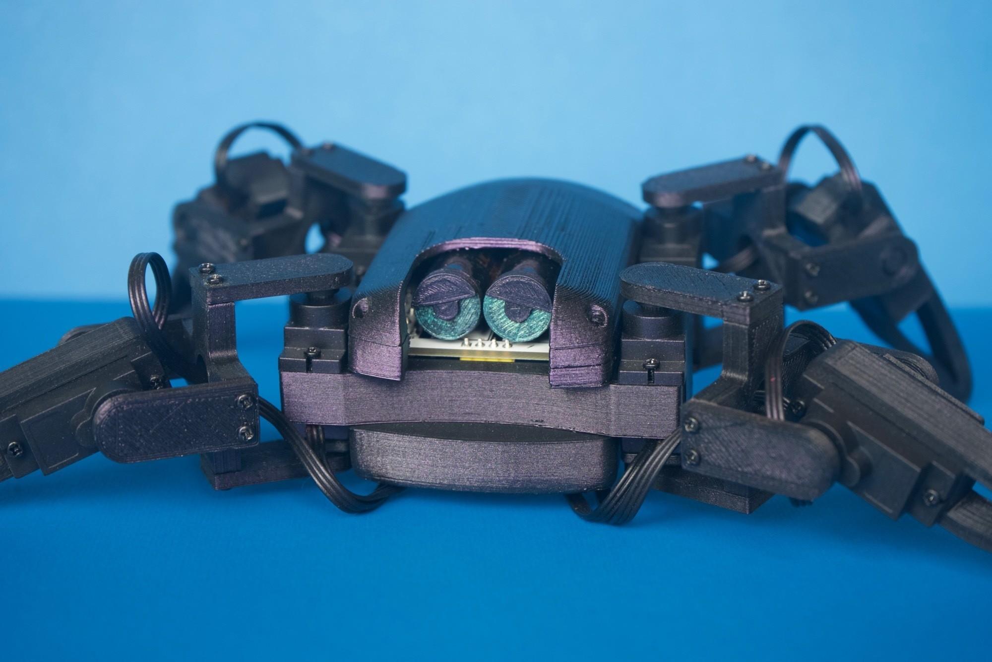 Q1mini004.jpg Download free STL file Q1 mini Quadruped Robot 2.0 (Designed by Jason Workshop) • 3D printing design, Jason8866