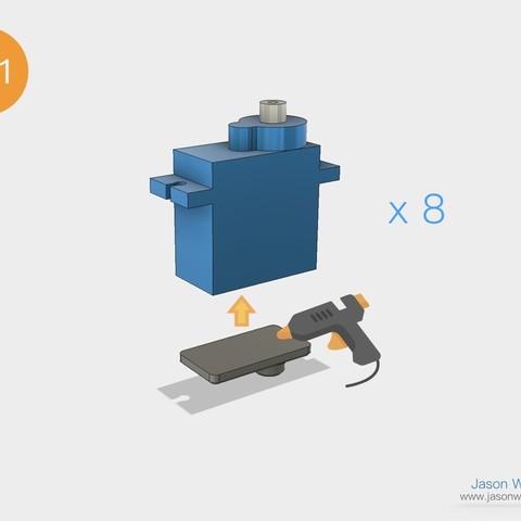 Q1mini_instructions.026.jpeg Download free STL file Q1 mini Quadruped Robot 2.0 (Designed by Jason Workshop) • 3D printing design, Jason8866