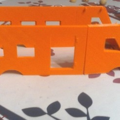 Free 3D printer model bus, oscar7