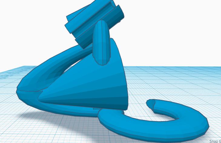 Shower Head Hanger Bag Side.png Télécharger fichier STL gratuit Sac de rangement pour pommeau de douche #DAGOMERLIN • Modèle pour imprimante 3D, XavierJCattoni