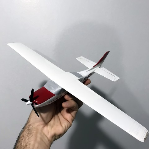 IMG_1032.jpg Download STL file Cessna 210 • Model to 3D print, Eduardohbm