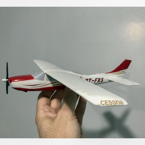 IMG_1027.jpg Download STL file Cessna 210 • Model to 3D print, Eduardohbm