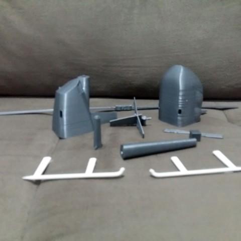 20181025_184004.jpg Download STL file Robinson Raven R44 3D print model • 3D printer model, Eduardohbm