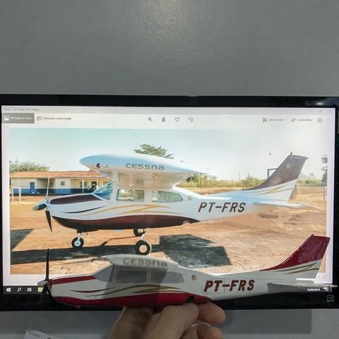 IMG_1024.jpg Download STL file Cessna 210 • Model to 3D print, Eduardohbm