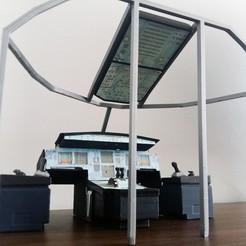 STL Airbus Cockpit Simulator mockup, Eduardohbm