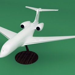 STL file Replica Gulfstream G650 3D print model, Eduardohbm