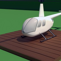 Download STL files Robinson Raven R44 3D print model, Eduardohbm