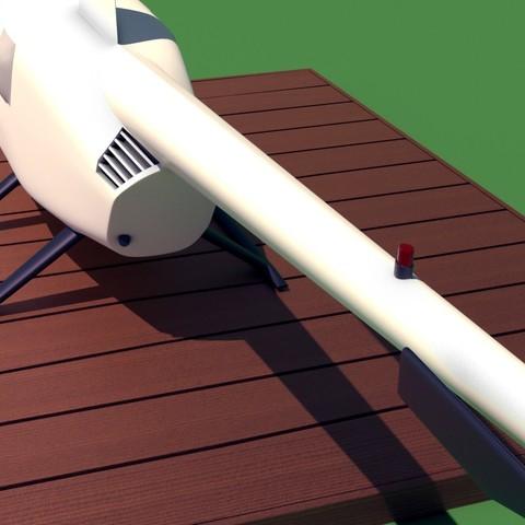 R44_3.jpg Download STL file Robinson Raven R44 3D print model • 3D printer model, Eduardohbm