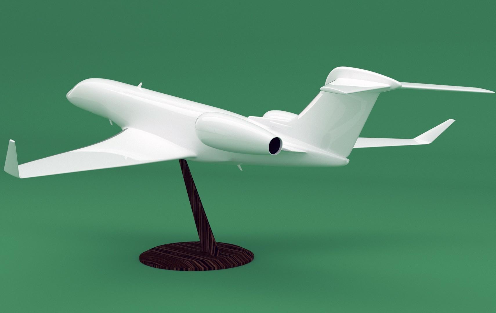G650_3.jpg Download STL file Replica Gulfstream G650 3D print model • 3D print design, Eduardohbm