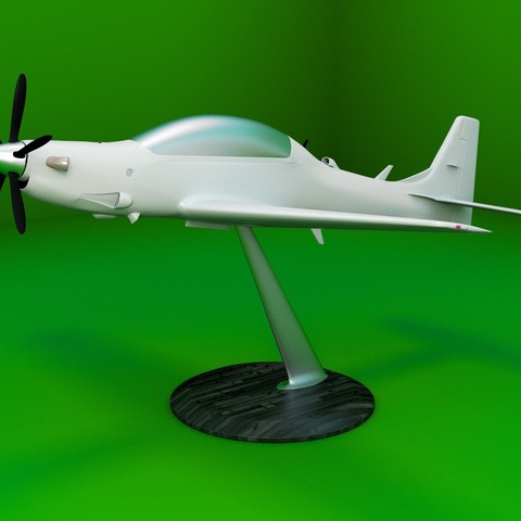 STL file Replica of the A-29 Super Tucano aircraft 3D print model, Eduardohbm
