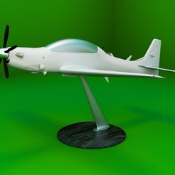 Download 3D printer designs Replica of the A-29 Super Tucano aircraft 3D print model, Eduardohbm