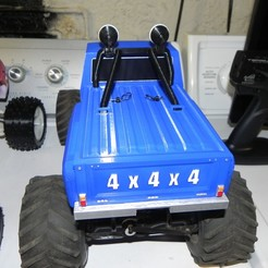 Download free 3D printer designs Rear Window addon for Ursa Bear Monster truck body, SuperCaterman