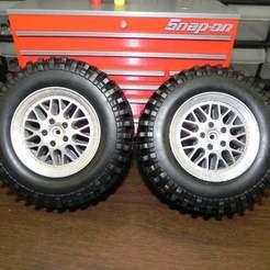 Télécharger modèle 3D gratuit BBS Style Jantes pour camions 3d sets, SuperCaterman