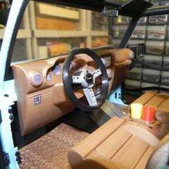 Download free 3D printer files 3dsets Rancher MOMO steering wheel option, SuperCaterman