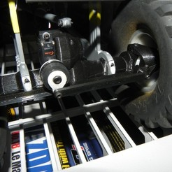 Download free 3D printer files Ursa Bear Steering Arm modification, SuperCaterman