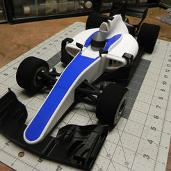Download free 3D print files openrc F1 2017 Dual extrusion lid with air intake, SuperCaterman