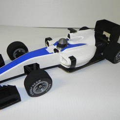 Download free 3D printer designs OPENRC F1 front and rear Foam tire adapters, SuperCaterman