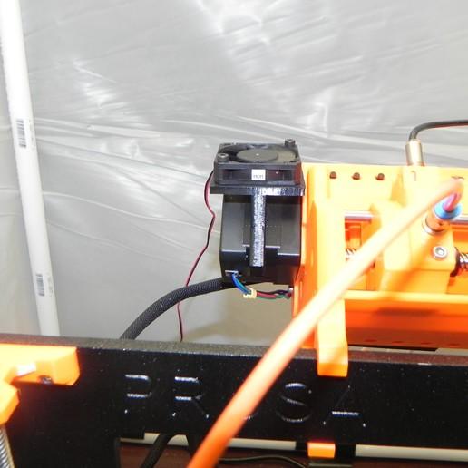 Download free 3D printer designs Prusa MMU2 assembly body fan, SuperCaterman