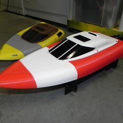 Descargar archivo 3D gratis Piezas experimentales de botes a reacción RC, SuperCaterman