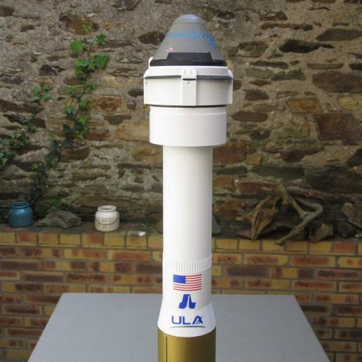 3D-afdruksjablonen downloaden Atlas V N22 cst100 starliner, theamphioxus