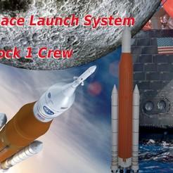 1ere de couv.jpg Télécharger fichier STL Space Launch System • Objet pour impression 3D, theamphioxus