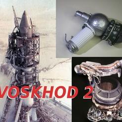voskhod 2.jpg Télécharger fichier STL VOSKHOD 2 mission 3KD sortie Aleksei LEONOV • Plan à imprimer en 3D, theamphioxus