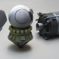 Impresiones 3D gratis vostok 3KA Yuri Gagarin, theamphioxus