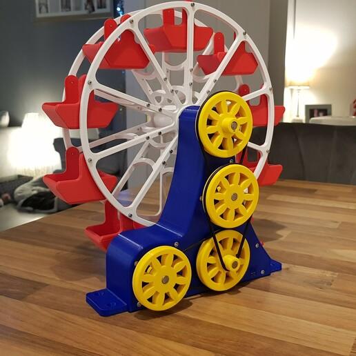 20201218_180931.jpg Download STL file STEAM POWERED FERRIS WHEEL • 3D print model, Boxermad84