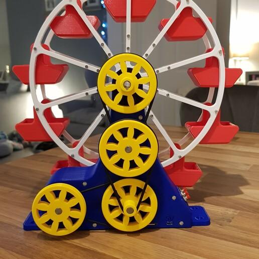 20201218_180919.jpg Download STL file STEAM POWERED FERRIS WHEEL • 3D print model, Boxermad84