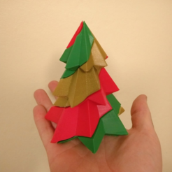 Free STL file Candy Cane Christmas Tree - 3 Colours - Single Extruder, Bugman_140