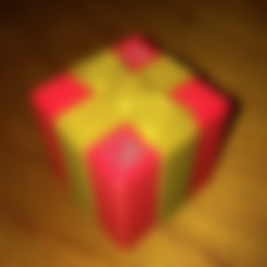 Gift_Body.stl Download free STL file Wrapped Gift - Single Extruder • 3D printer template, Bugman_140