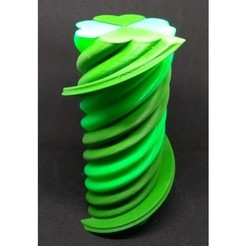 STL gratis Twisted 4 Leaf Clover - Single Extruder, Bugman_140